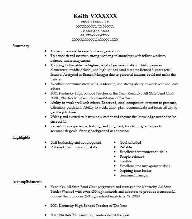 351 Financial Management (Accounting And Finance) Resume Examples in