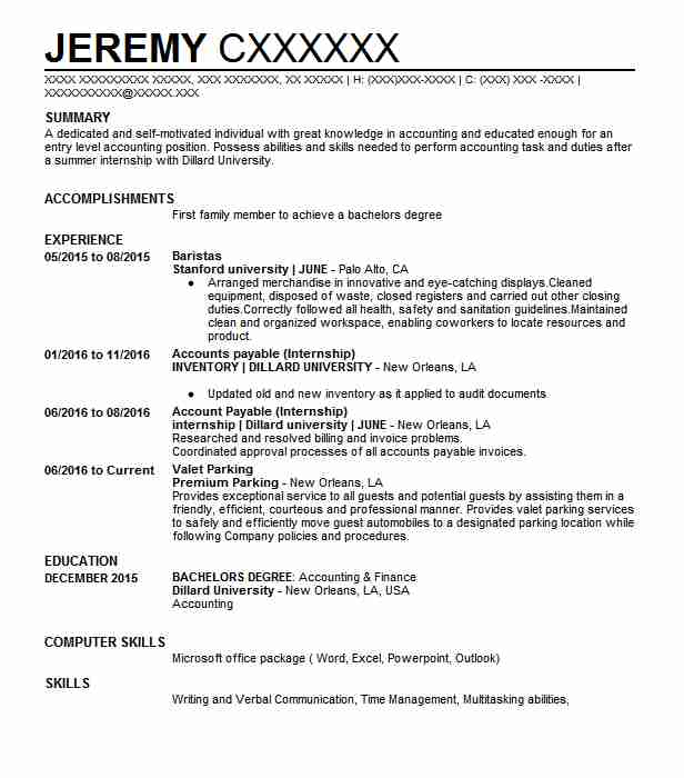 60643 Accountants Resume Examples Accounting And Finance Resumes