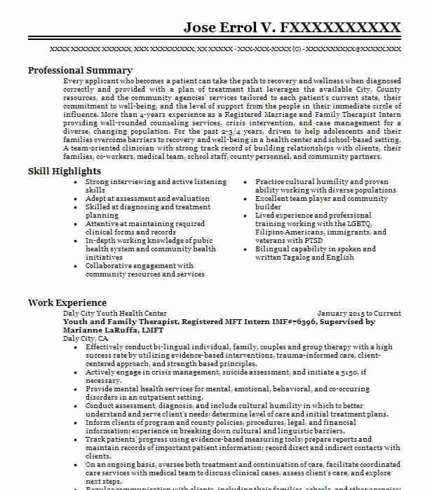 Entry Level Respiratory Therapist Resume Sample LiveCareer