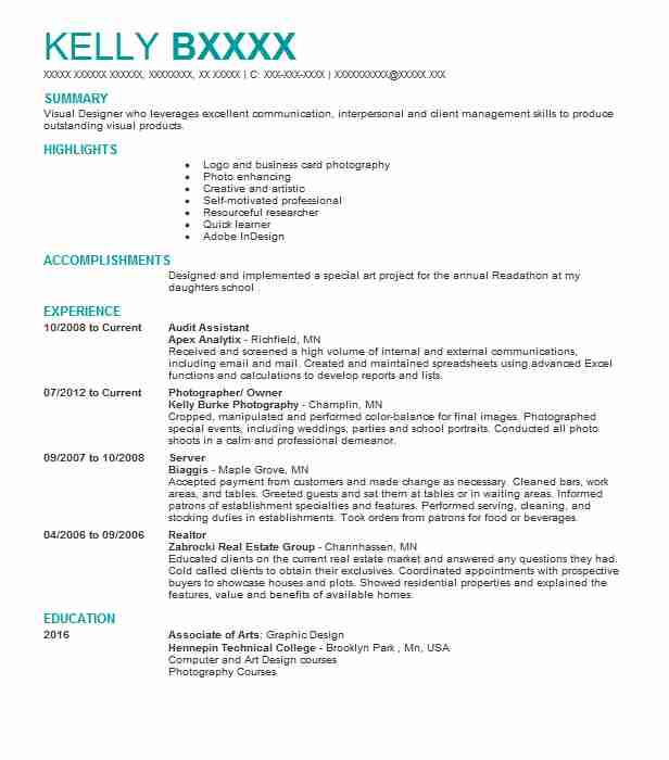 Audit Assistant Resume Sample Accountant Resumes LiveCareer