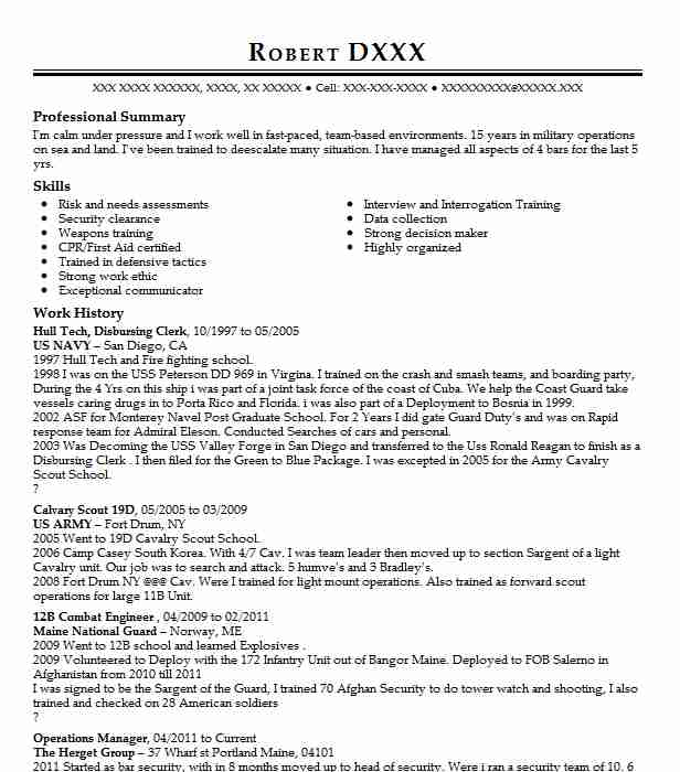 78 Criminal Justice Resume Examples in Maine LiveCareer - Criminal Justice Resumes