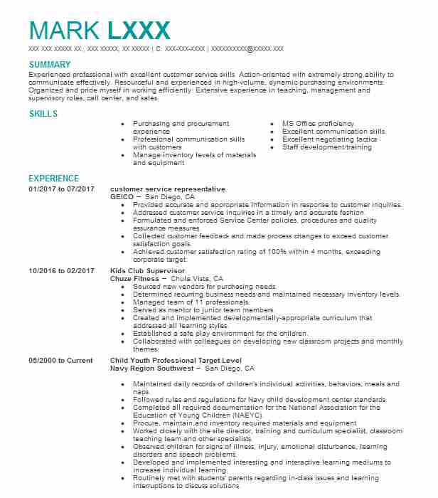 Child And Youth Worker Resume Sample Worker Resumes LiveCareer