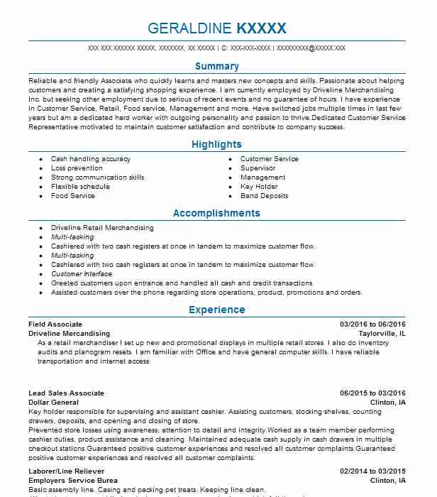 General Ledger Accountant Resume Sample LiveCareer - reconciliation analyst sample resume