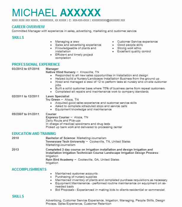 Sales Associate Resume Example (The Home Depot) - Troy, Michigan - Home Depot Resume