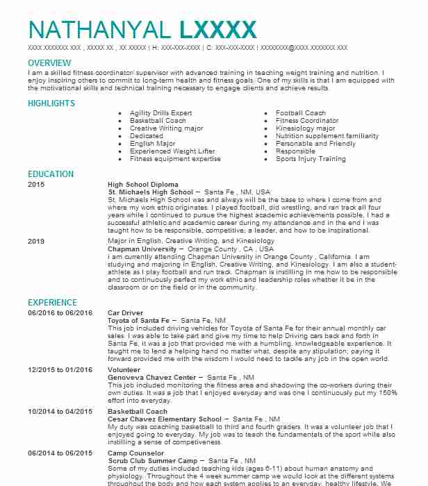 Car Driver Resume Sample Driver Resumes LiveCareer