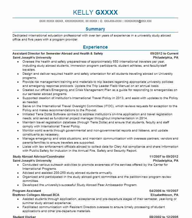Health And Safety Officer Resume Sample Resumes Misc LiveCareer - safety officer resume