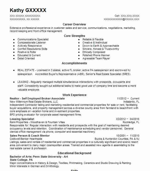 Websphere Message Broker Resume Sample Broker Resumes LiveCareer