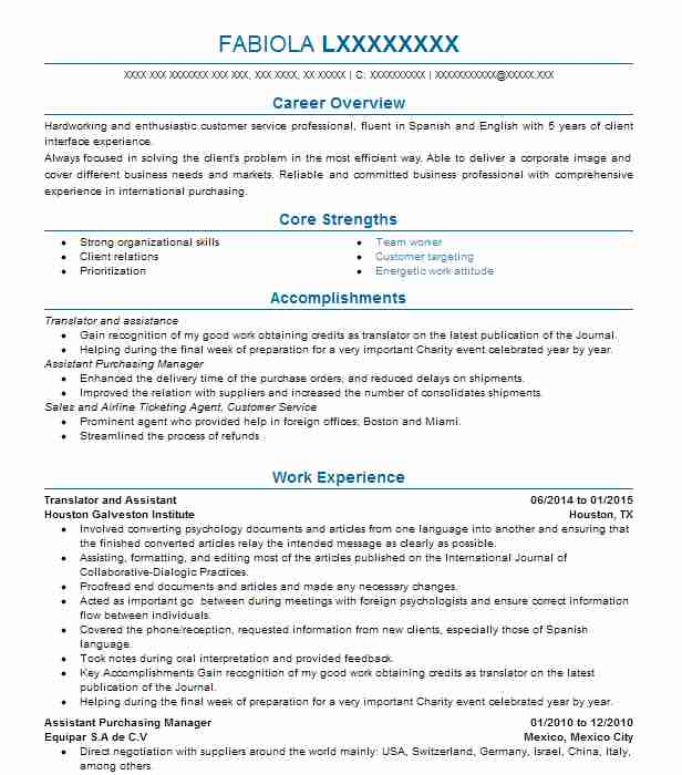 Eye-Grabbing Agent Resumes Samples LiveCareer - union business agent sample resume