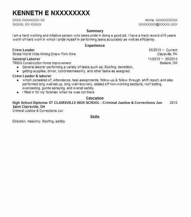64 Extraction And Mining Resume Examples in Florida LiveCareer