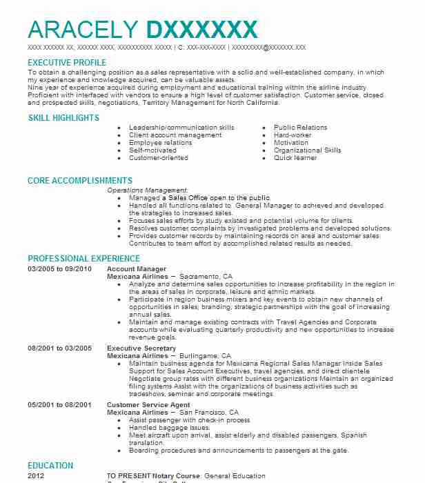 Eye-Grabbing Executive Resumes Samples LiveCareer - skills resume templates