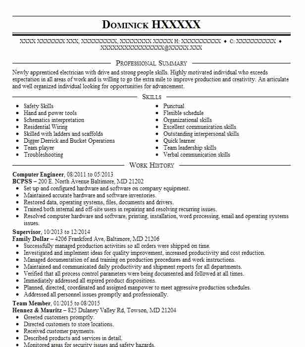 Computer Engineer Resume Sample Technical Resumes LiveCareer