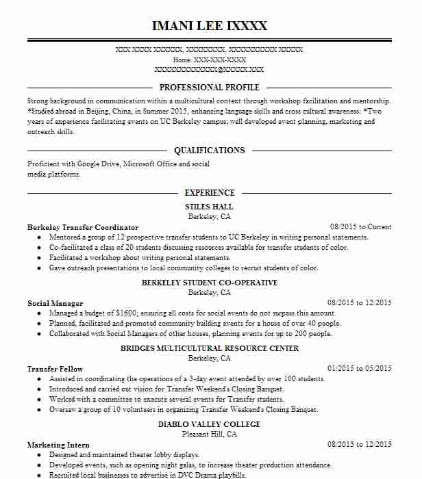 167 Stage Management Resume Examples in California LiveCareer - stage management resume