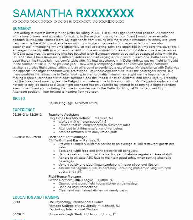 resume objective example tour guide