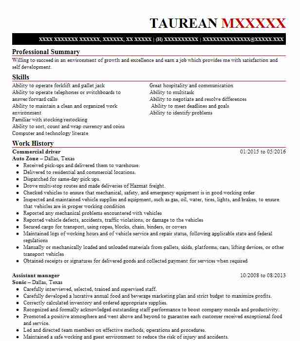 riverdale resume in english