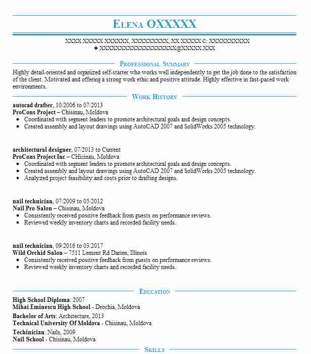 Autocad Drafter Resume Sample Drafter Resumes LiveCareer