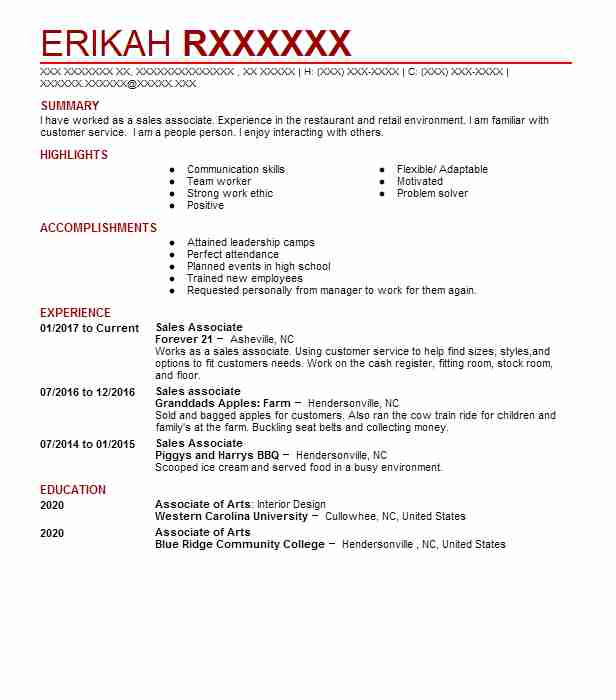 53 Costume Design (Art, Fashion And Design) Resume Examples in North