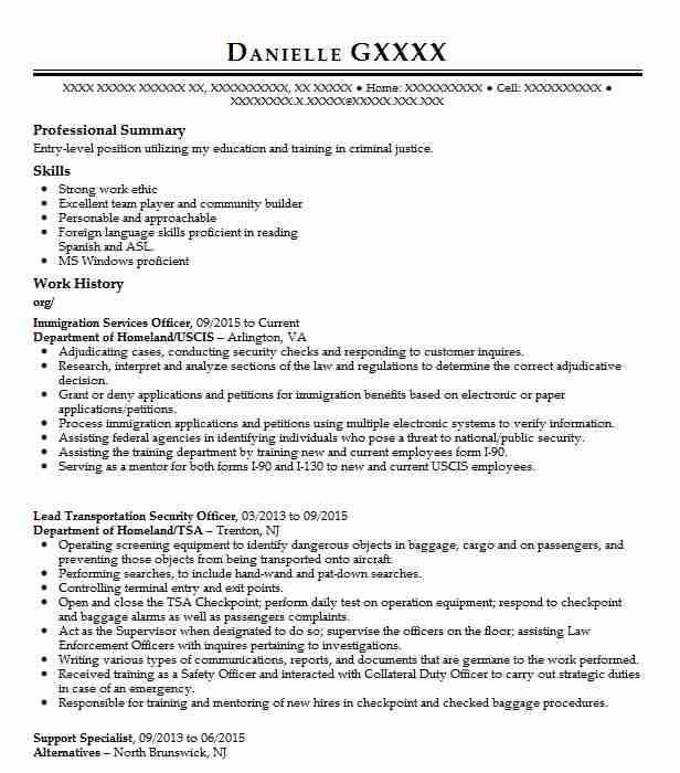 results driven resume