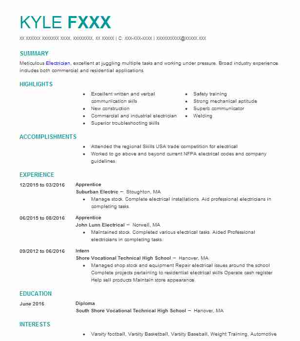 experience based resume examples