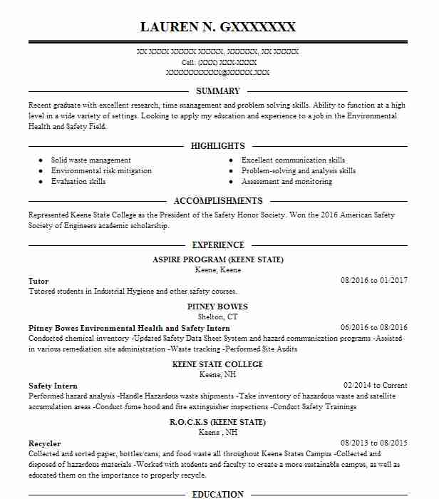 safety specialist resumes