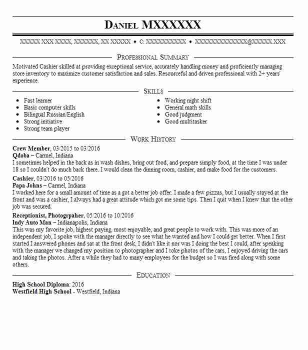 65 Butchers And Meat Processing Resume Examples in Indiana LiveCareer - Butcher Apprentice Sample Resume