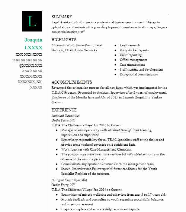 1769 Court Reporting Resume Examples Legal Resumes LiveCareer