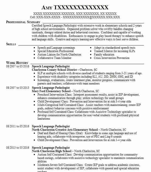vocational rehabilitation specialist cover letter for vocational - assistive technology specialist sample resume