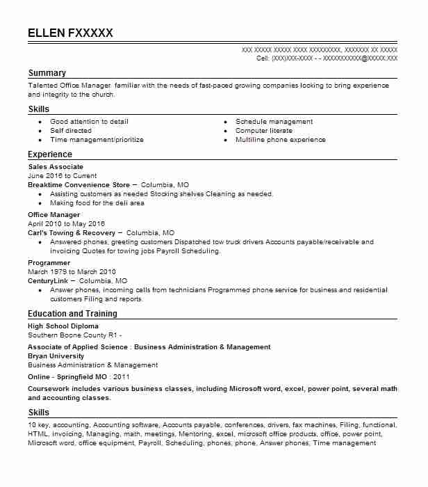 Sales Associate Objectives Resume Objective LiveCareer - sales associate objective for resume