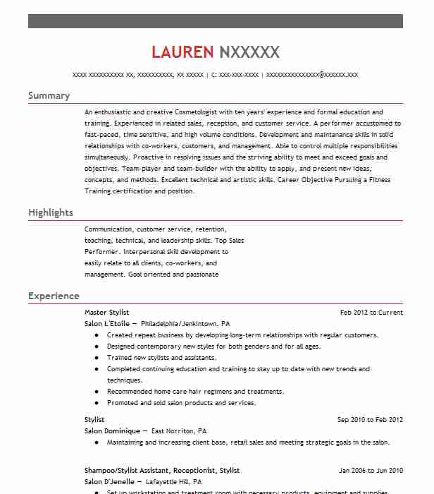 748 Fitness And Personal Training Resume Examples Personal - personal training resume