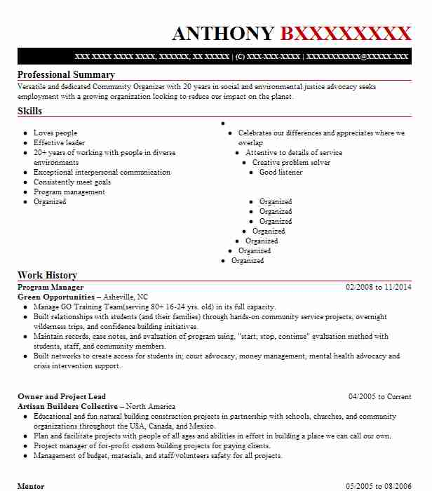 Find Resume Examples in Gerton, NC LiveCareer