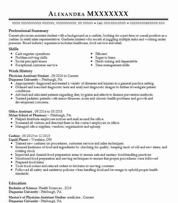 resume title of degree
