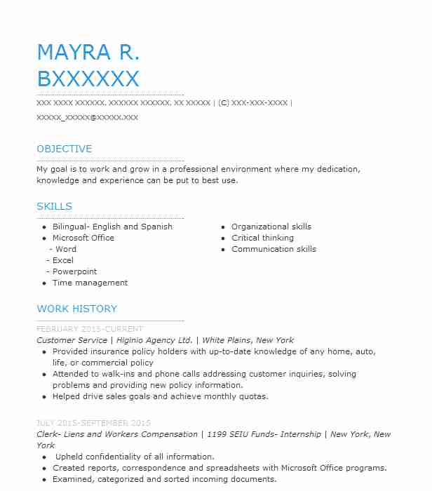 60 Customer Service Resume Examples Healthcare Resumes LiveCareer
