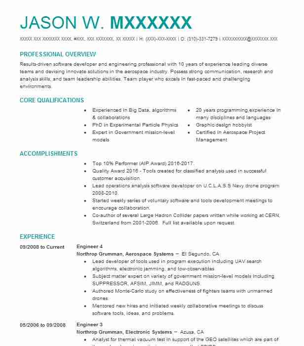 Assistant Engineer Resume Sample Engineering Resumes LiveCareer - Experienced Engineer Resume