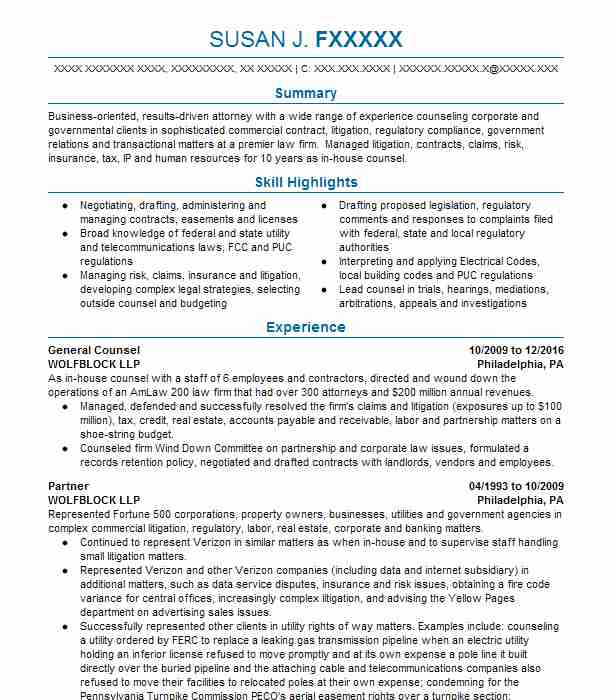 Document Review Attorney Resume - A Good Resume Example \u2022