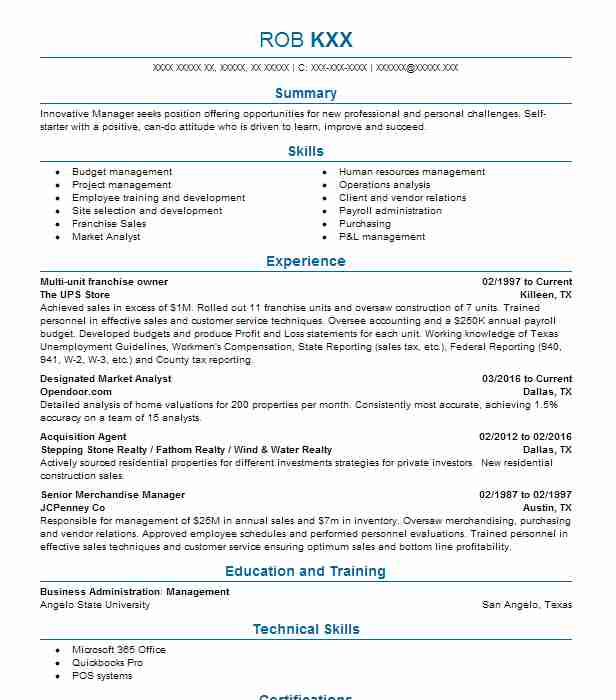 Restaurant General Manager Resume Example (Ampex Brands Pizza Hut Of - pizza hut resume