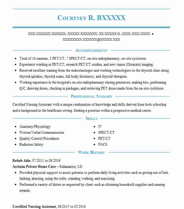 Cna Cover Letter Letters New Rehab Aide Nursing Complex With
