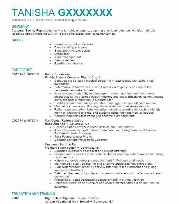 Find Resume Examples in Hinesville, GA LiveCareer