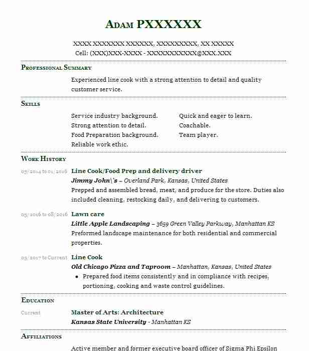 20 Concessions And Refreshments Resume Examples in Kansas LiveCareer - concession worker sample resume