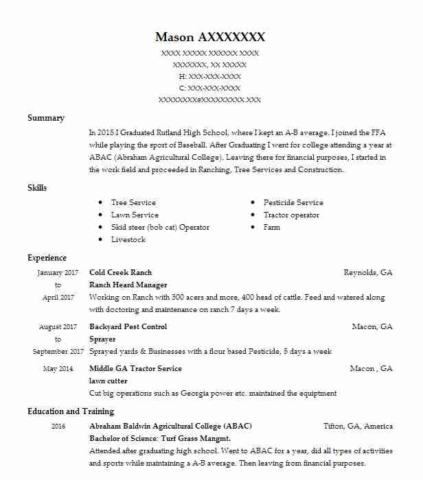 38 Fishing And Fisheries (Natural Resources And Agriculture) Resume - fishing resume