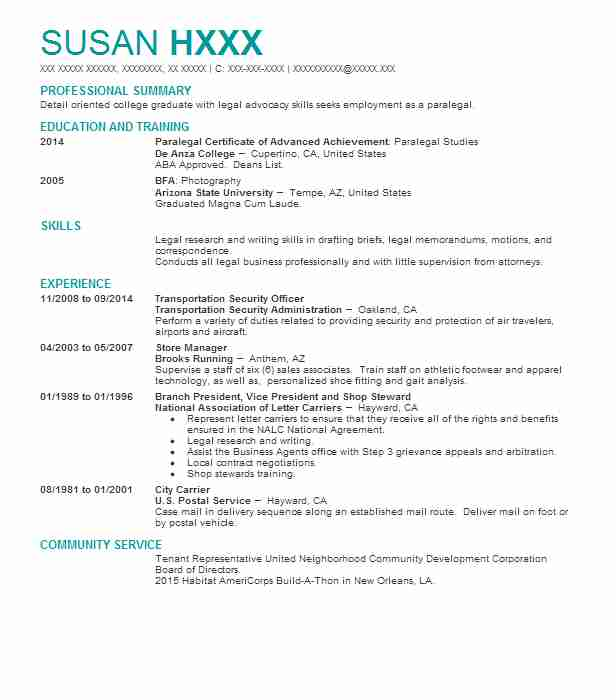 Eye-Grabbing Steward Resumes Samples LiveCareer - Advocacy Officer Sample Resume