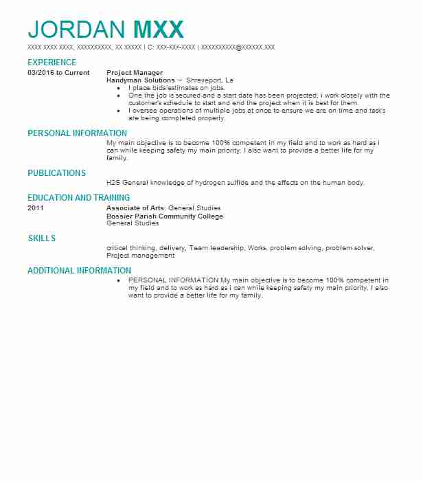 60 Extraction And Mining Resume Examples in Louisiana LiveCareer - mining safety manager sample resume