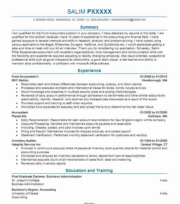 Best Auditor Resume Example LiveCareer - auditor resume examples