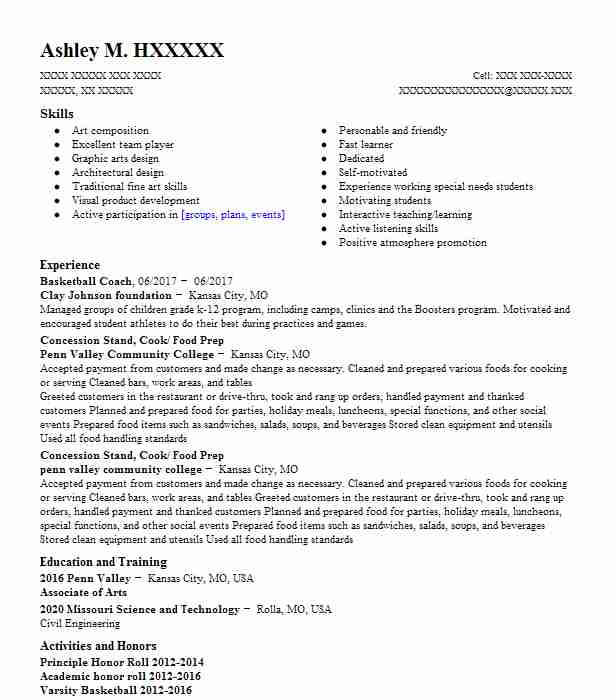 Basketball Coach Resume Sample Coach Resumes LiveCareer
