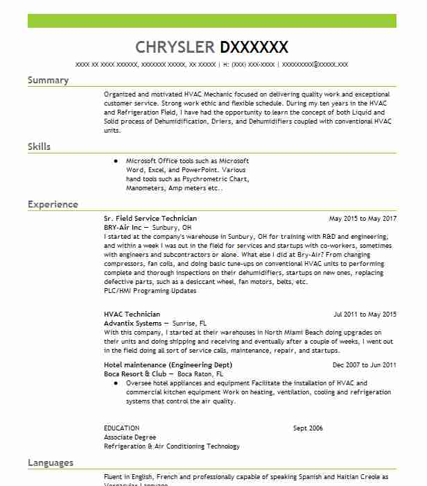 Hvac Draftsman Resume Sample Draftsman Resumes LiveCareer - draftsman resume sample