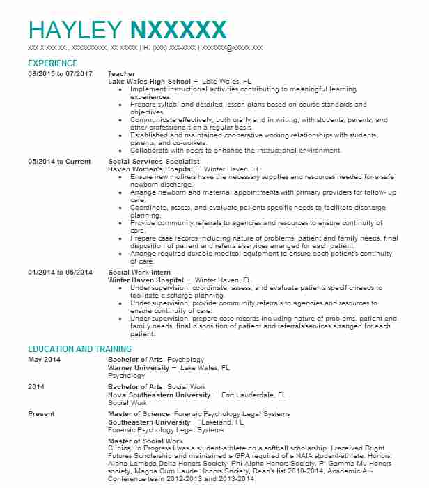 Eye-Grabbing Teacher Resumes Samples LiveCareer