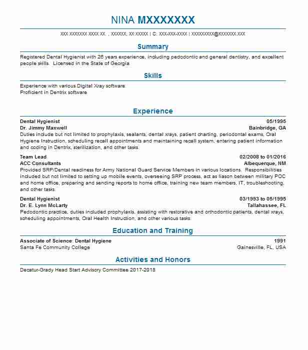 dental hygiene resume templates - Boatjeremyeaton - dental hygiene resume template