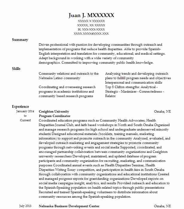 Microfinance Specialist And Business Development Resume Example - business development resumes