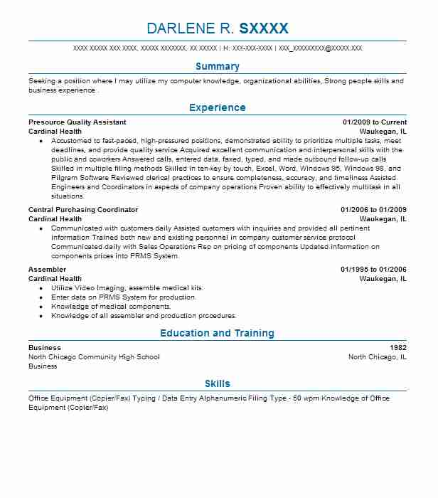 Assembler Resume Samples 418750 Assembler Resume Samples Luxury