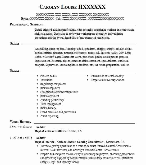 resume objective detail oriented
