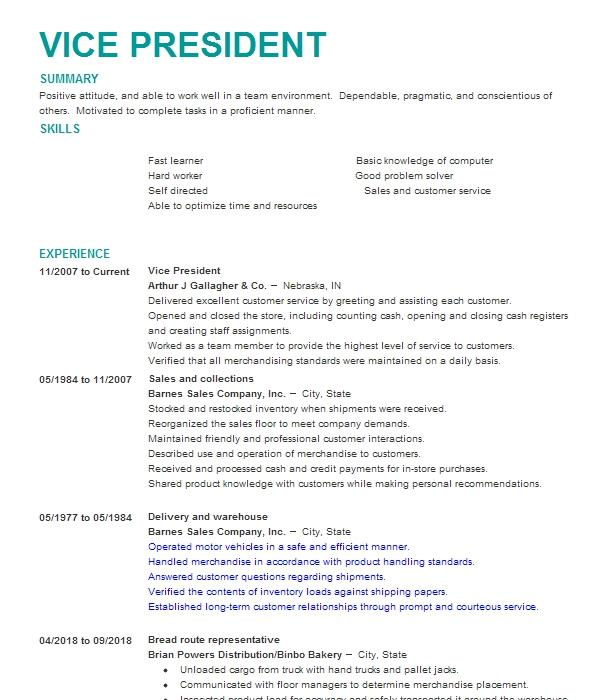 Fashion Consultant Resume Example (Agaci) - Lubbock, Texas