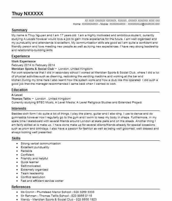 stage management resume examples